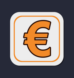 euro money curreny vector image