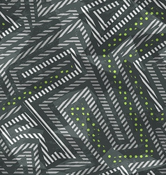 Industrial seamless pattern with grunge effect vector