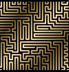 seamless striped geometric luxury pattern vector image