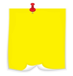 Sticky note2 vector image