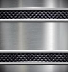 Brushed metal stock vector