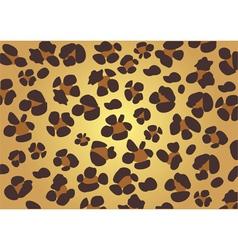 leopard skin vector image vector image