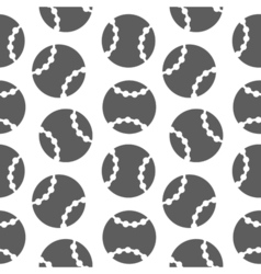 baseball seamless pattern for boy Sports balls on vector image vector image