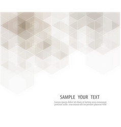 abstract background hexagon geometric vector image