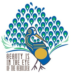 Beauty Of The Beholder vector