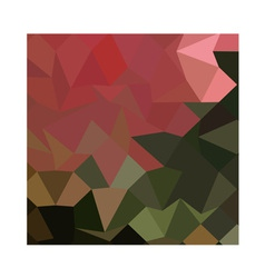 Brunswick Green Abstract Low Polygon Background vector image