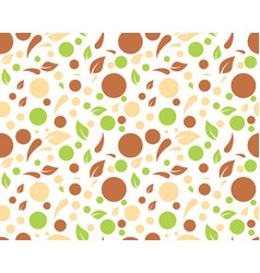 eco nature leaf background vector image