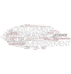 Enhance word cloud concept vector