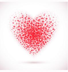 heart-pink vector image