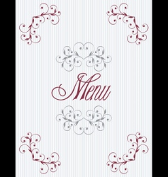 menu11 vector image