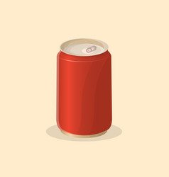 Soda in a tin can vector