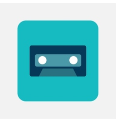 Videotape icon vector