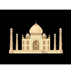 most famous World landmark vector image
