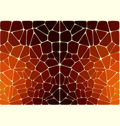 the pattern like jaguar or leopard skin vector image