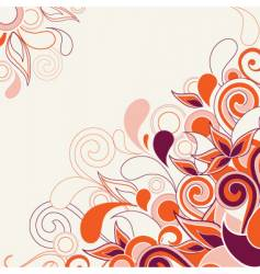 abstract decorative vector image