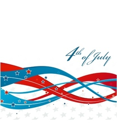 American Independence Day Patriotic background vector image
