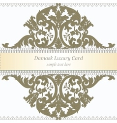 Medieval invitation vector images over 960 baroque luxury invitation card vector stopboris Image collections