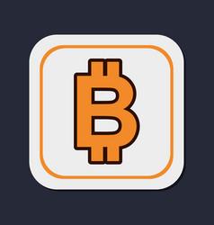 Bitcoin virtual money vector