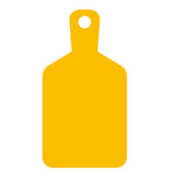 Cutting board icon vector
