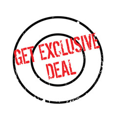 Get exclusive deal rubber stamp vector