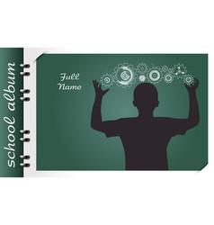 programmer school album vector image