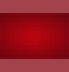 red abstract background cube style stylish design vector image
