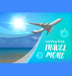 special offer on business travel business trip vector image