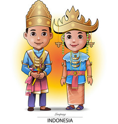 sumatra people vector image