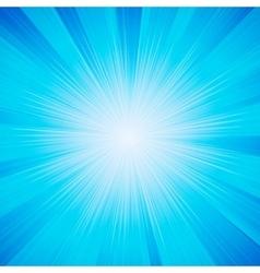shiny sun vector image