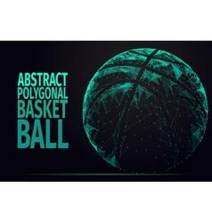 Abstract basket ball vector