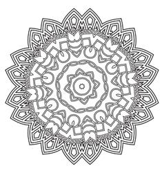 Mandala Hand drawn ethnic decorative elements vector image