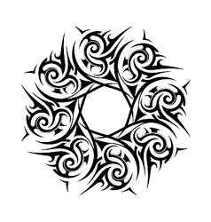 Ancient wreath garland vector image vector image
