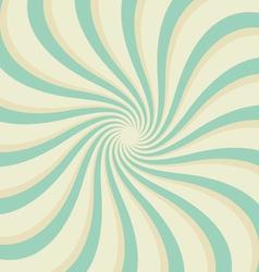 starburst waves blue vector image