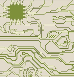 Circuit background vector