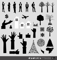Decorative wall stickers for your offices vector