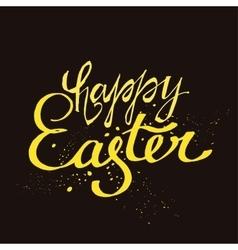 Easter Lettering vector image