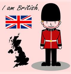 I am british vector