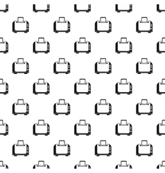 Toaster pattern simple style vector