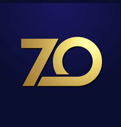 70 simple gold vector