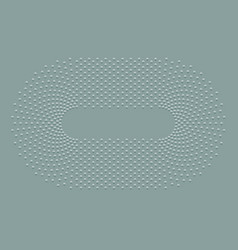 abstract ellipse dotted background vector image