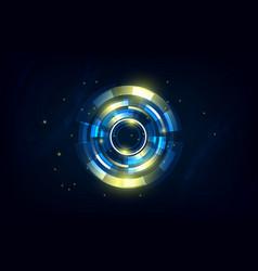 abstract hi tech futuristic telecoms vector image