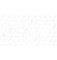 abstract light seamless hexagon honeycomb vector image
