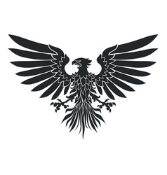coat-of-arms eagle vector image