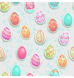 Easter holiday pattern vector