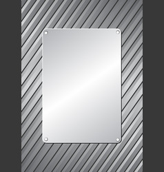 plaque vector image