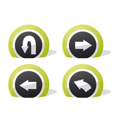 Return icons vector