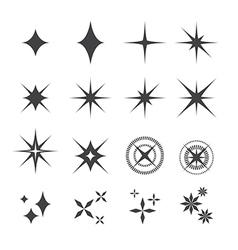 sparkles icon vector image