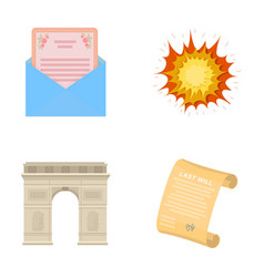 Travel invitation celebration and other web icon vector