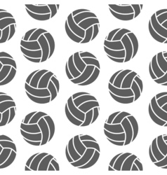 Volleyball seamless pattern for boy Sports balls vector