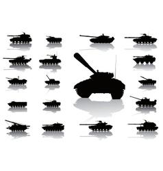 WeaponTanks vector image vector image